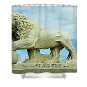 The Lion Shower Curtain