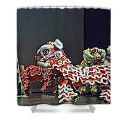 The Lion Dance Camarillo  Shower Curtain