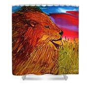 The Lion King Of Massai Mara Shower Curtain