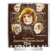 The Lion Man 1919 Shower Curtain