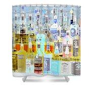 The Liquor Cabinet Shower Curtain