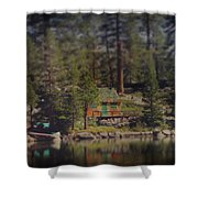 The Little Cabin Shower Curtain