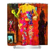 The Little Girl - Pa Shower Curtain