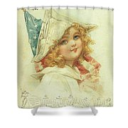 The Little Patriot Shower Curtain