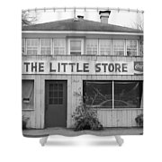 The Little Store Shower Curtain by Lauri Novak