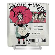 The Little Thumbelina 1891 Shower Curtain
