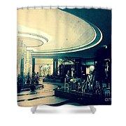 The Lobby Shower Curtain