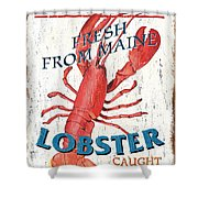 The Lobster Pot Shower Curtain