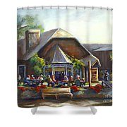 The Local Grill And Scoop Shower Curtain