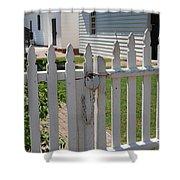 The Lock Shower Curtain