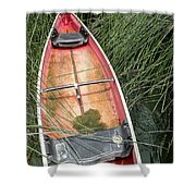 The Lodge At Blue Lakes  Shower Curtain