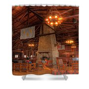 The Lodge At Starved Rock State Park Illinois Shower Curtain