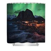 The Lofoten Dream Shower Curtain