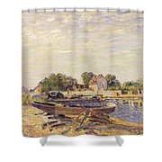 The Loing At Saint Mammes 1885 Shower Curtain