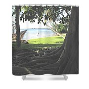 The Long Dock Shower Curtain