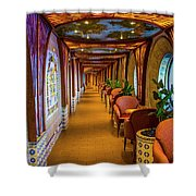 The Long Hall Shower Curtain