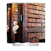 The Long Room Shower Curtain