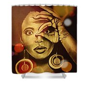 The Look Of Things Shower Curtain