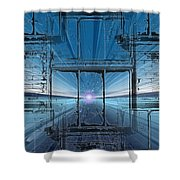 The Looking Glass Shower Curtain