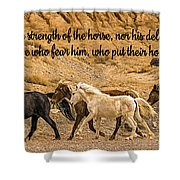 The Lord's Delight Shower Curtain