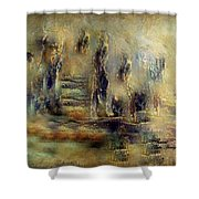The Lost City By Sherriofpalmsprings Shower Curtain