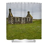 The Lost Village Shower Curtain