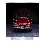The Love Bug Square Shower Curtain