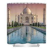 The Love Of Taj Shower Curtain