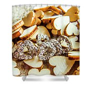 The Lovers Collection Shower Curtain