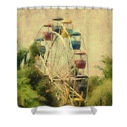 The Lover's Ride Shower Curtain