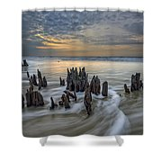 The Lowcountry - Botany Bay Plantation Shower Curtain