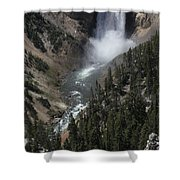 The Lower Falls Shower Curtain