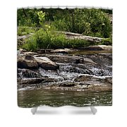 The Lower Yough River Shower Curtain