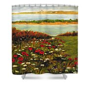The Lowlands Shower Curtain
