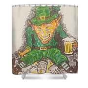 The Luck Of The Irish Shower Curtain