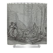The Luncheon On The Grass Shower Curtain