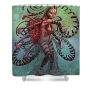 The Lure Mimic Shower Curtain