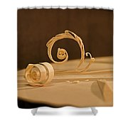 The Luthiers Art Shower Curtain