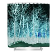 The Magic Forest Shower Curtain