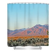 The Magic Light Of Taos  Shower Curtain