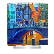 The Magic Of Amsterdam Shower Curtain