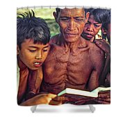 The Magic Of Books Shower Curtain