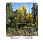 The Magic Of Fall Shower Curtain