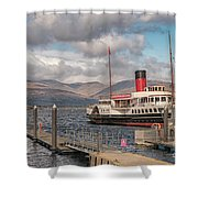 The Maid Of The Loch Shower Curtain