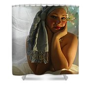 The Maiden Shower Curtain