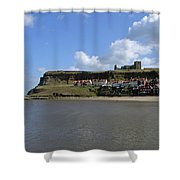 The Majestic East Cliff Shower Curtain