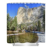 The Majestic El Capitan Yosemite National Park Shower Curtain