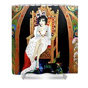 The Majestic Joan Collins D B E Shower Curtain