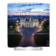 The Majestic Koenigplatz Shower Curtain