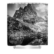 The Majesty Of Mountains Shower Curtain
